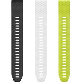 Garmin Fenix 5 Verlängerungsarmband black/white/yellow
